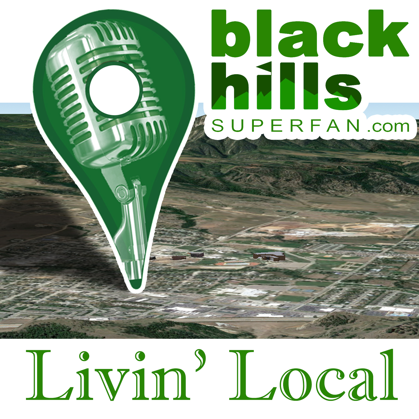 Livin' Local Podcast Logo